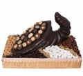 Dark Chocolate Cornucopia Gift Basket