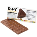DIY Chocolate Hamantash Chocolate Bar Favor