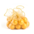 Gold Organza Bags - 12CT Bag