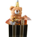 Teddy Bear Gift Basket - Israel Only