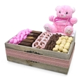 Baby Girl Wooden Gift Box - Israel Only