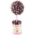 Baby Girl Pink Candy Round Topiary