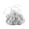 Silver Organza Pouches - 12CT Bag