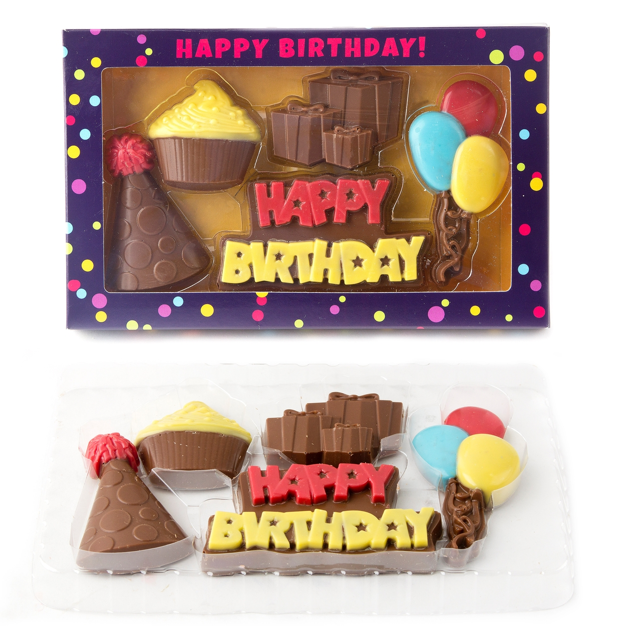 Fun Happy Birthday Chocolate Gift Box Chocolate Gift Boxes Bulk
