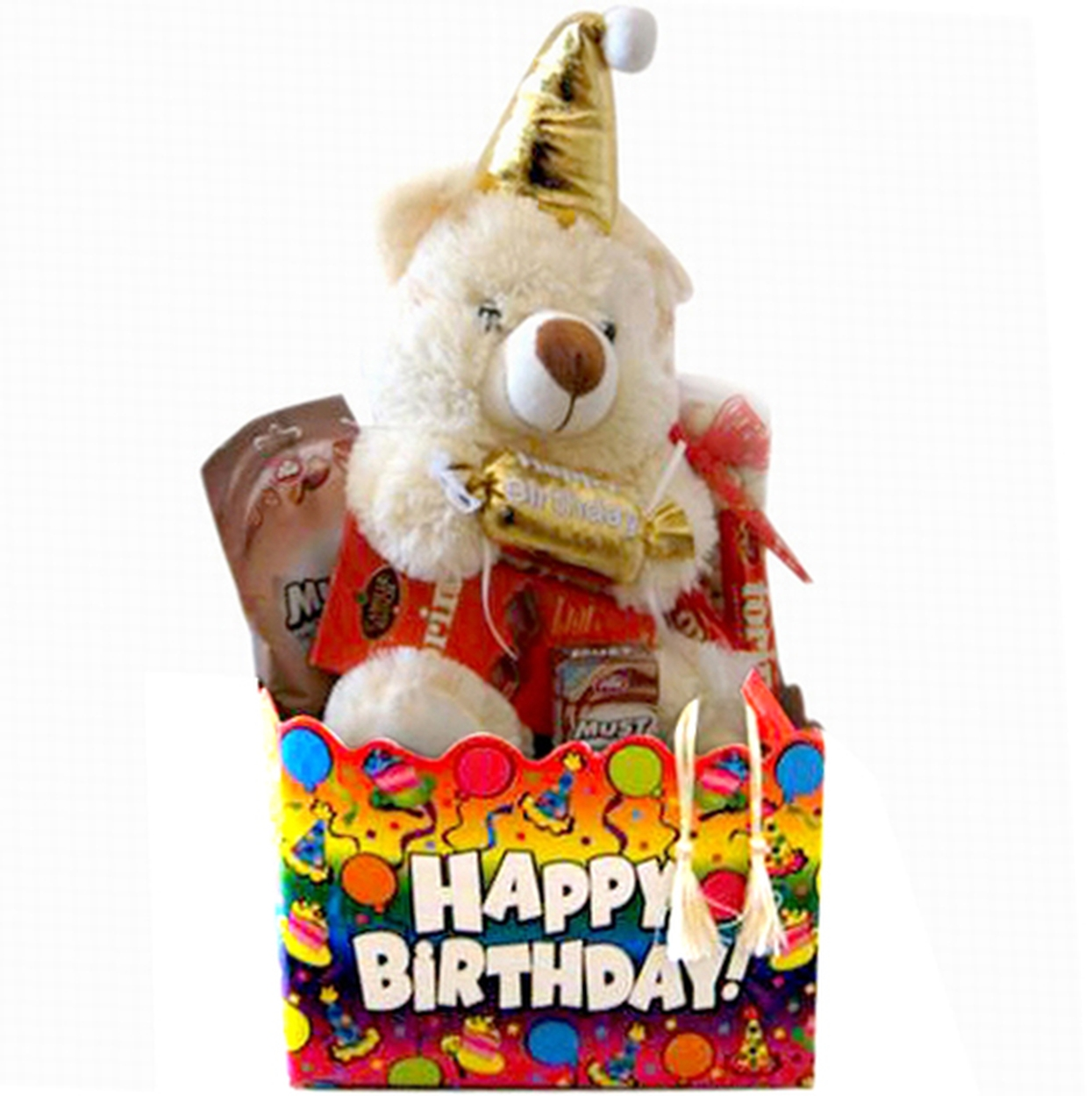 Birthday gifts kosher gift baskets oh nuts happy birthday gift basket negle Image collections