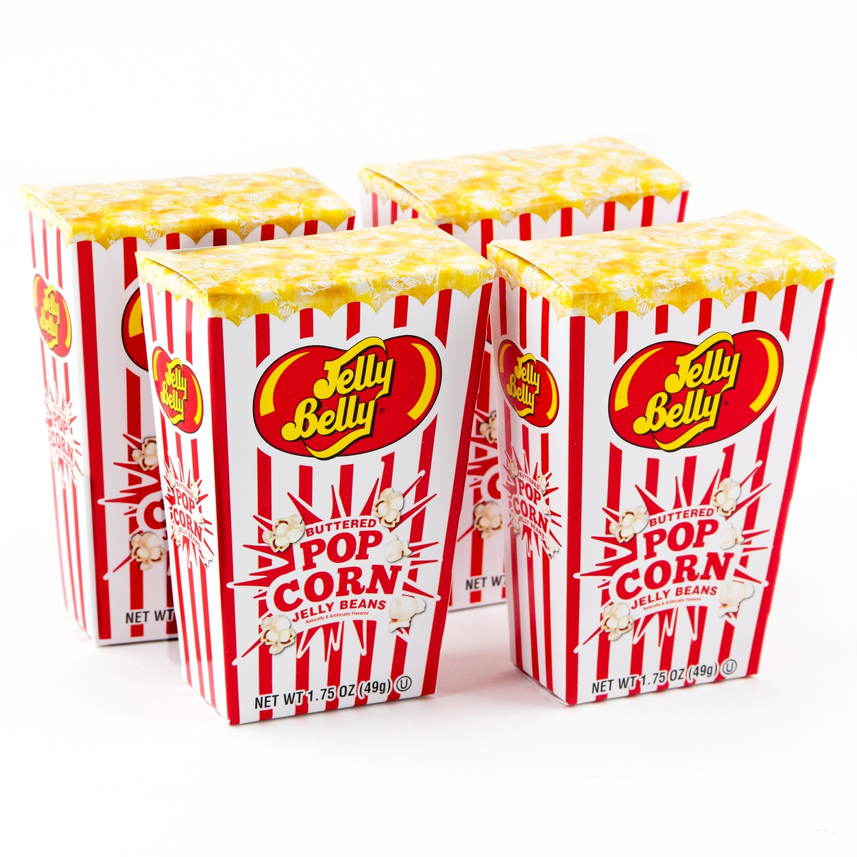 Buttered Popcorn Jelly Beans Box - 1.75 oz • Jelly Beans Candy ...
