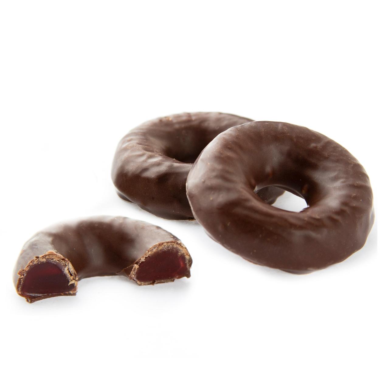 Passover Chocolate Raspberry Jelly Rings • Passover Chocolate ...