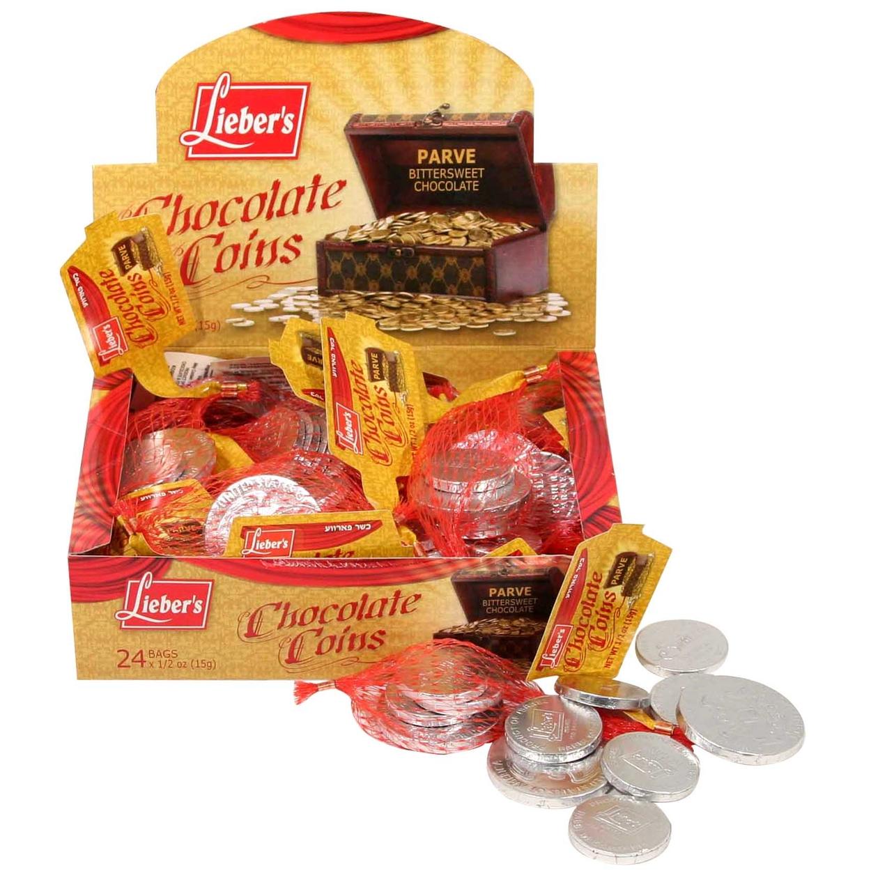 Hanukkah Gelt • Chanukah Chocolate Gelt • Oh! Nuts®