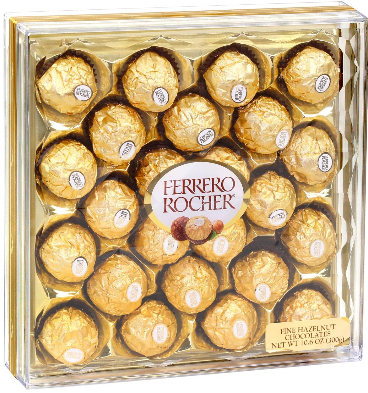 Ferrero Rocher Chocolate Truffle Gift Box - 24 Pc. • Oh! Nuts®