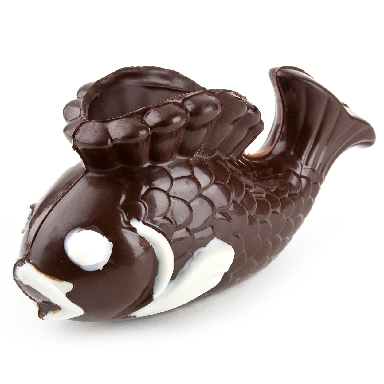 Hand Crafted Chocolate Fish Dish • Chocolate Molds • Bulk ...