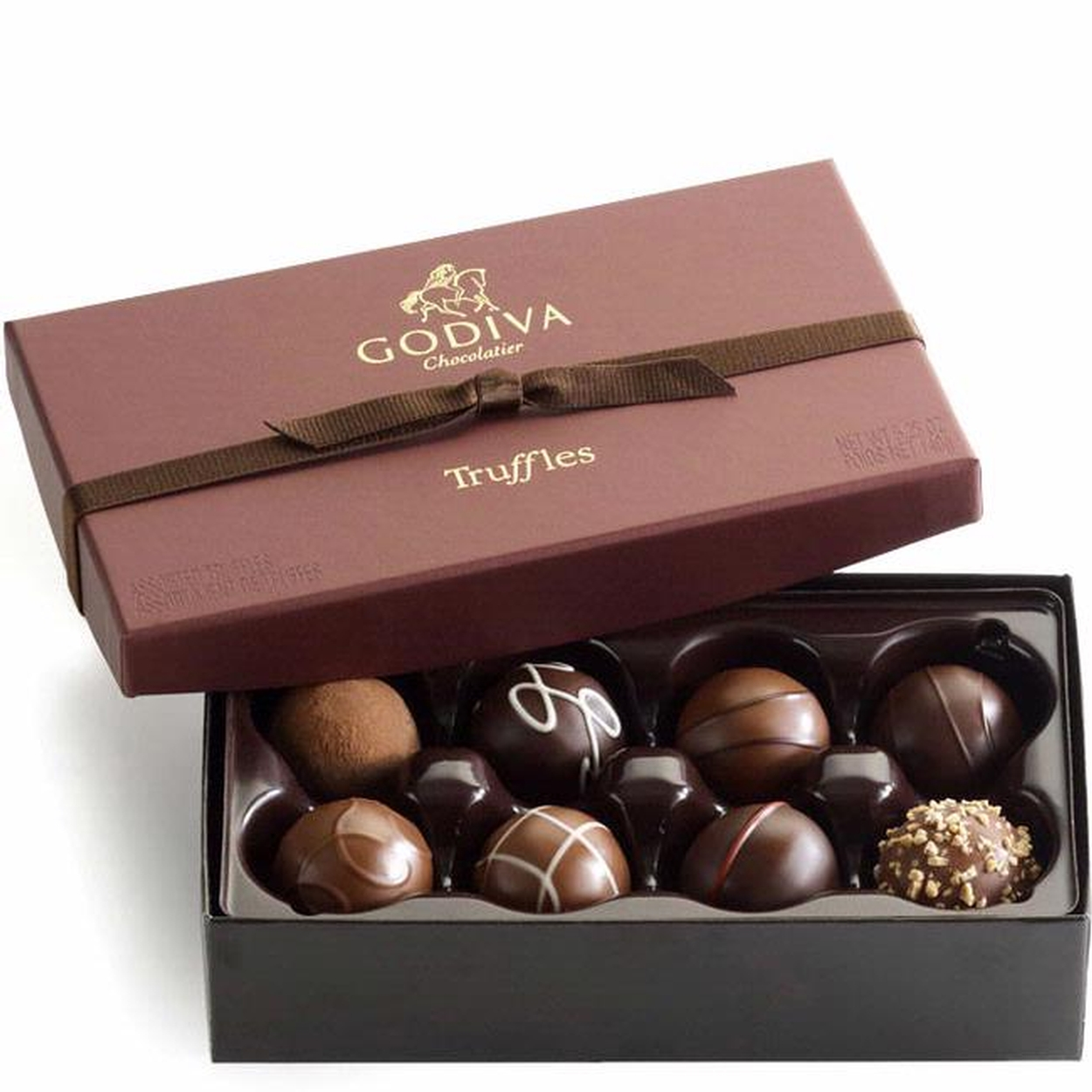Godiva Signature Chocolate Truffles Gift Box - 8 Pc. • Chocolate ...