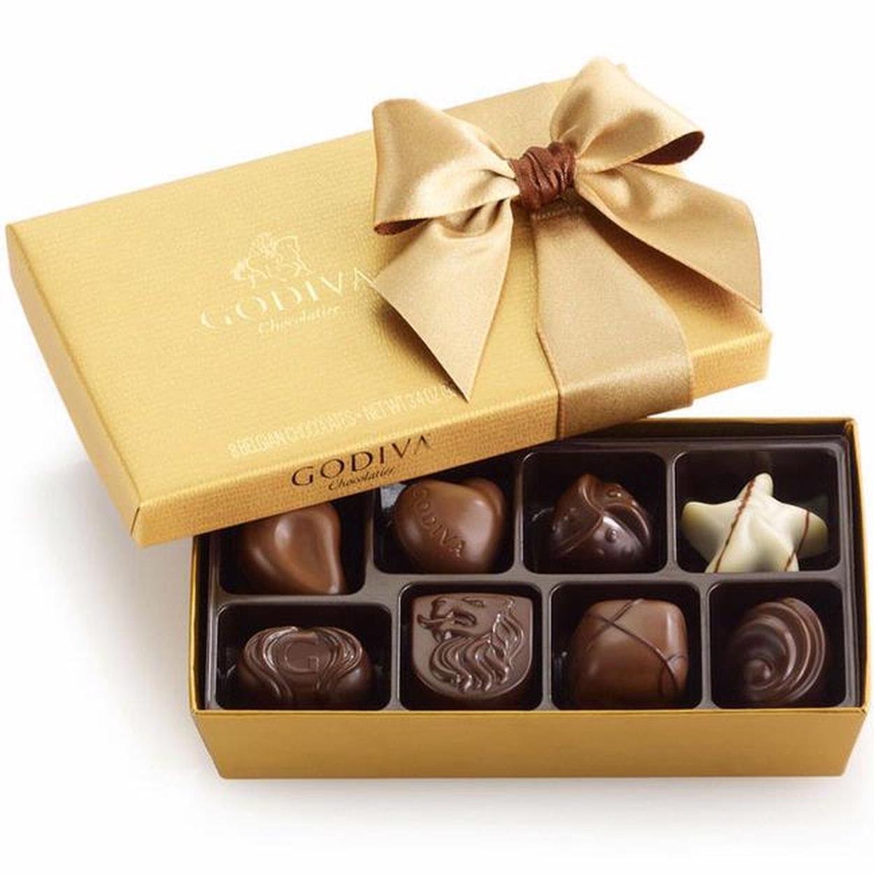 Godiva gold ballotin chocolate truffle gift box 8 pc chocolate godiva gold ballotin chocolate truffle gift box 8 pc chocolate gift boxes bulk chocolate oh nuts negle Choice Image