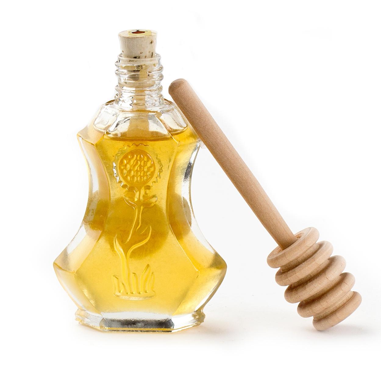 Mini Floral Fantasy Honey Bottle + Honey Dipper Favor Bag • Rosh ...