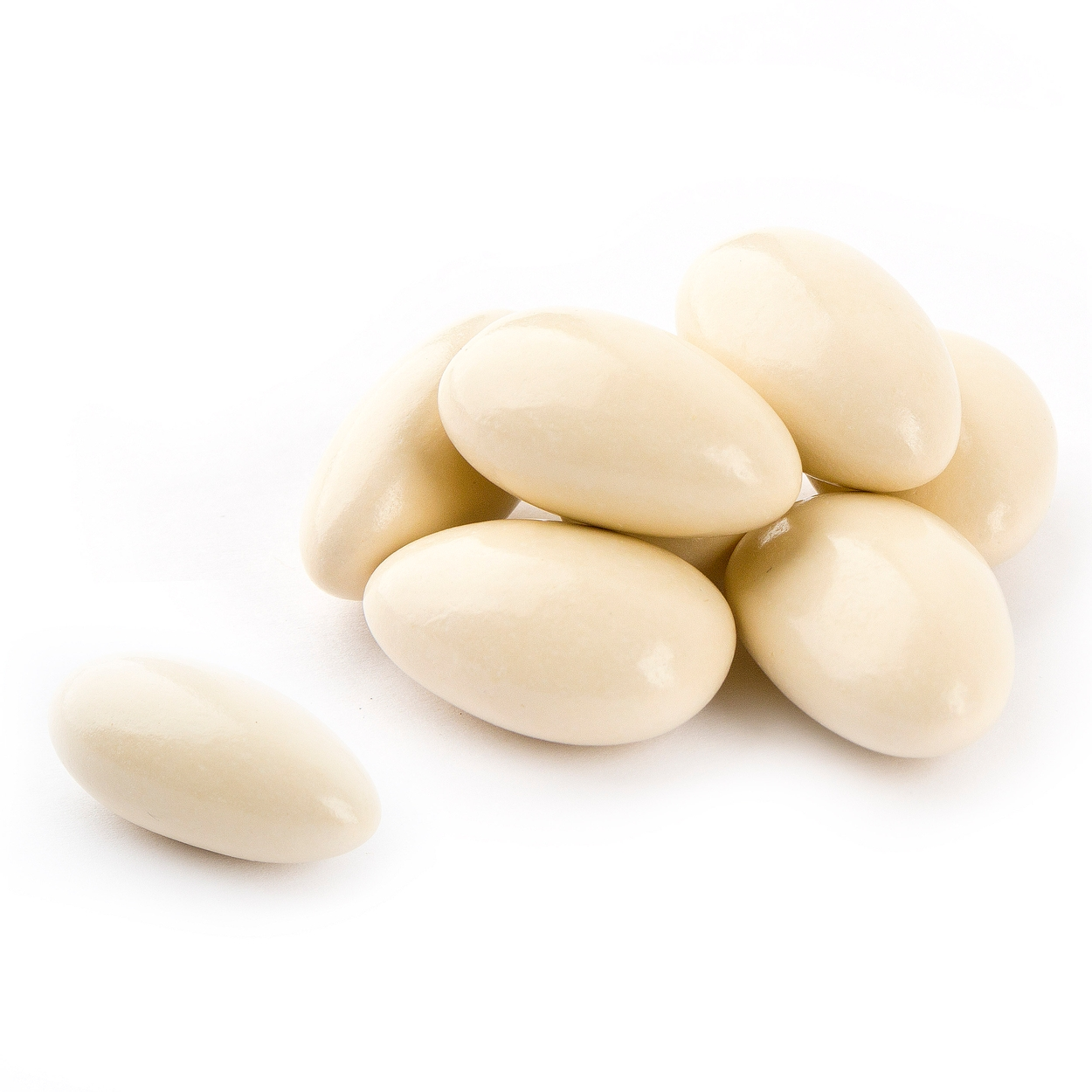 Super Fine Ivory Jordan Almonds - Cappuccino • Jordan Almonds Candy ...