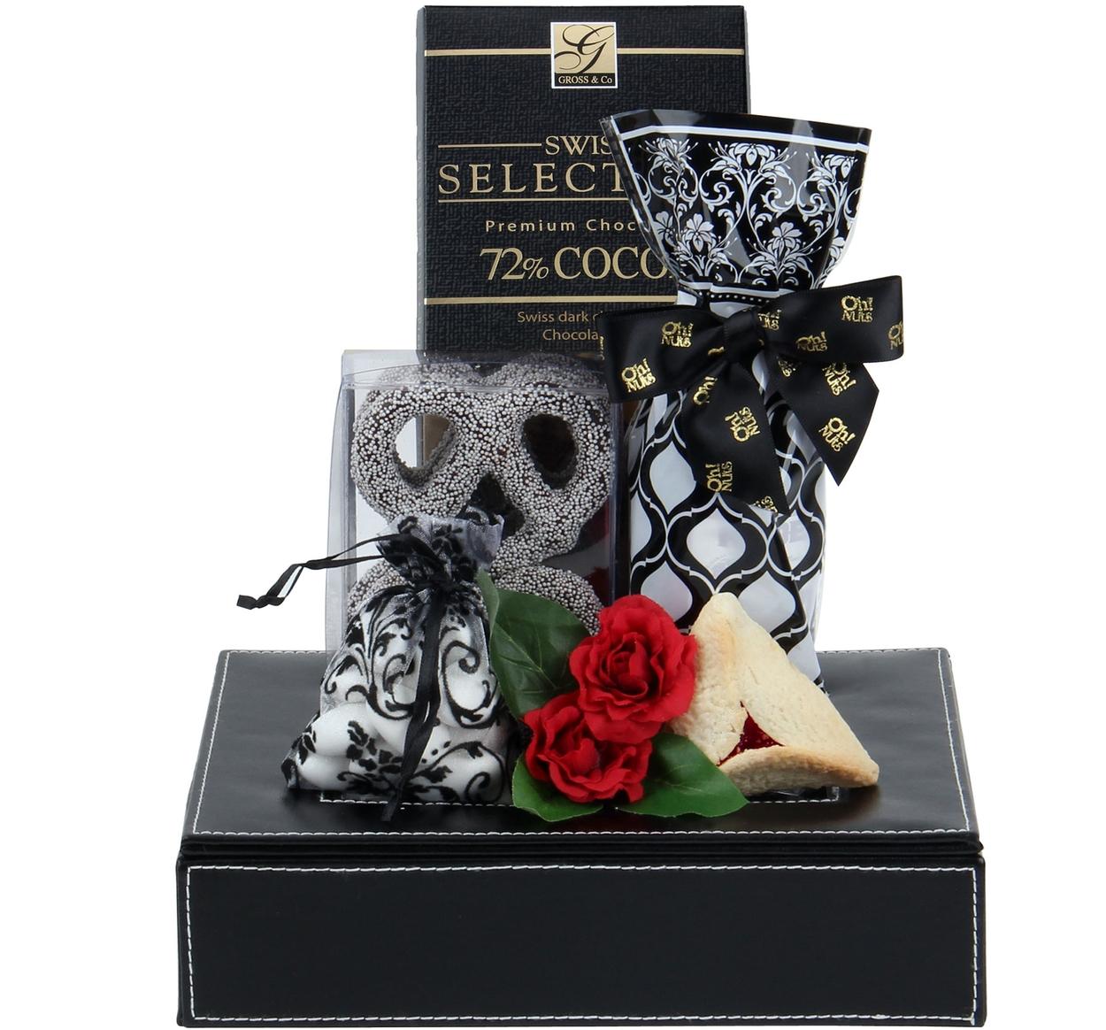 lofty leather memory box shalach manos purim baskets