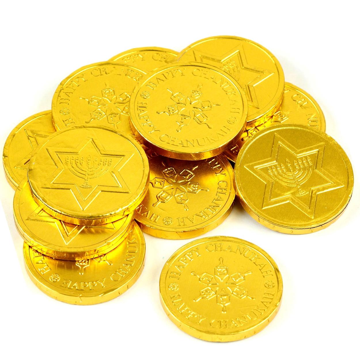 Madelaine Bulk Milk Chocolate Chanukah Coins • Chanukah Gelt ...