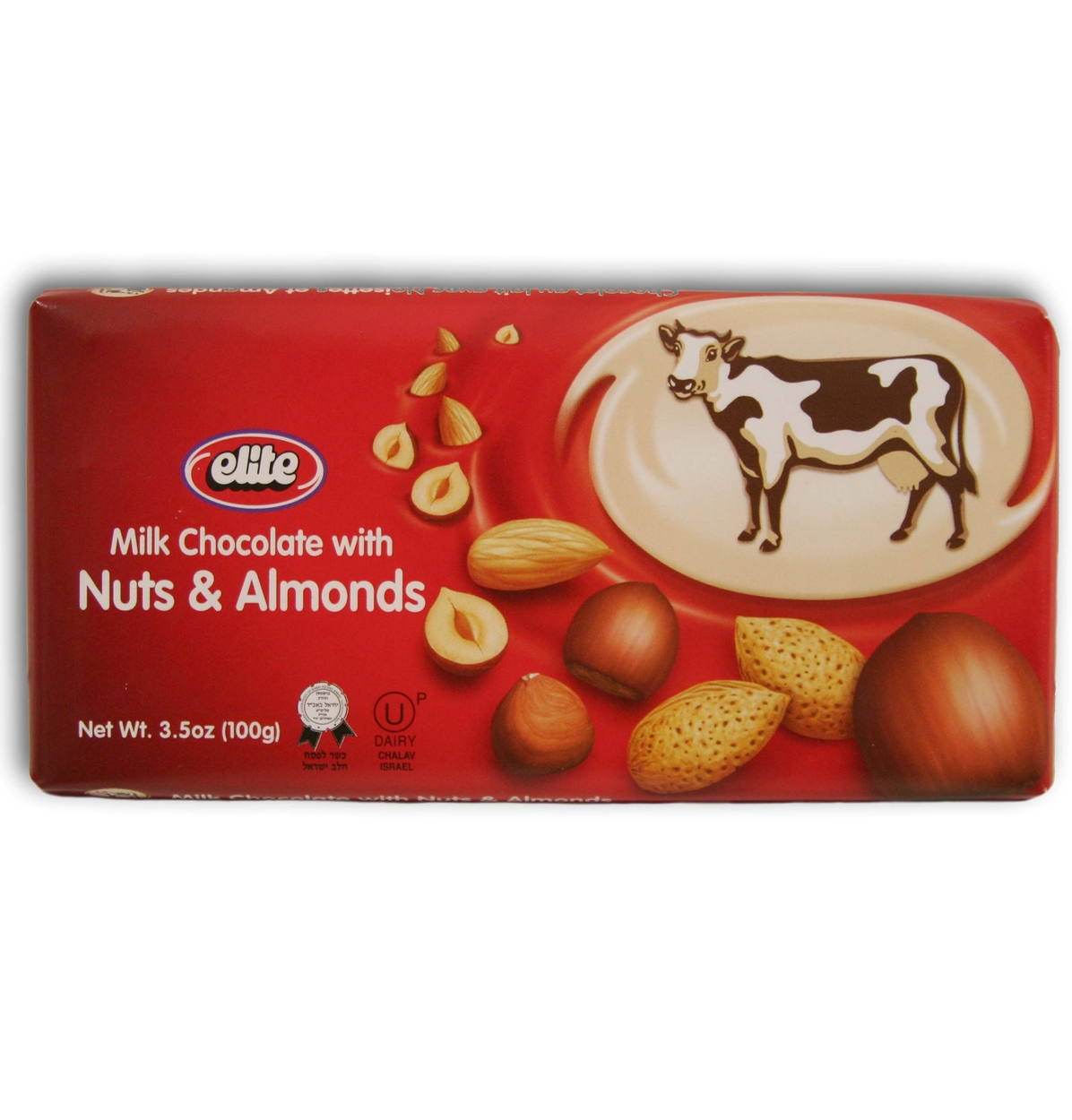 Passover Elite Milk Chocolate with Nuts & Almonds - 12CT Box ...