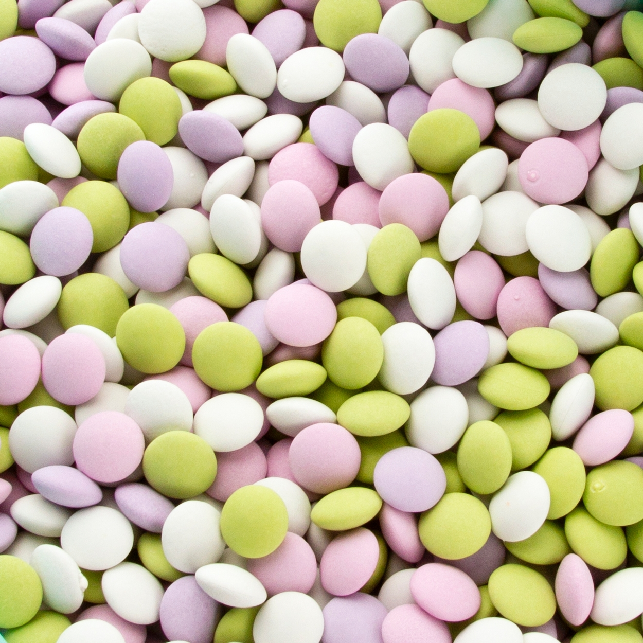 Mini Pastel Chocolate Mint Lentils • Chocolate Candy Buttons ...