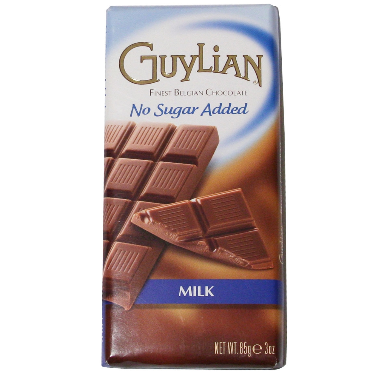 NO SUGAR ADDED Milk Chocolate Bar • Guylian Belgian Chocolates ...