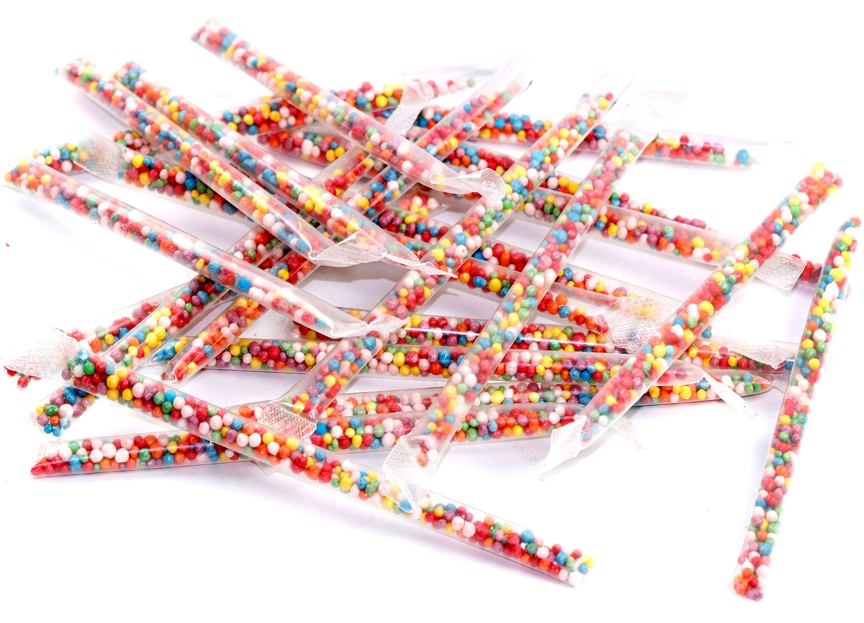 Old Fashion Candy Sticks Black And White