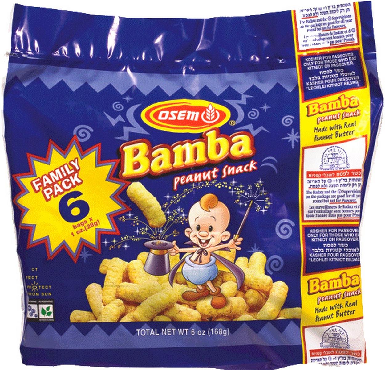 passover bamba peanut snack 6 pack kitnios passover cereal