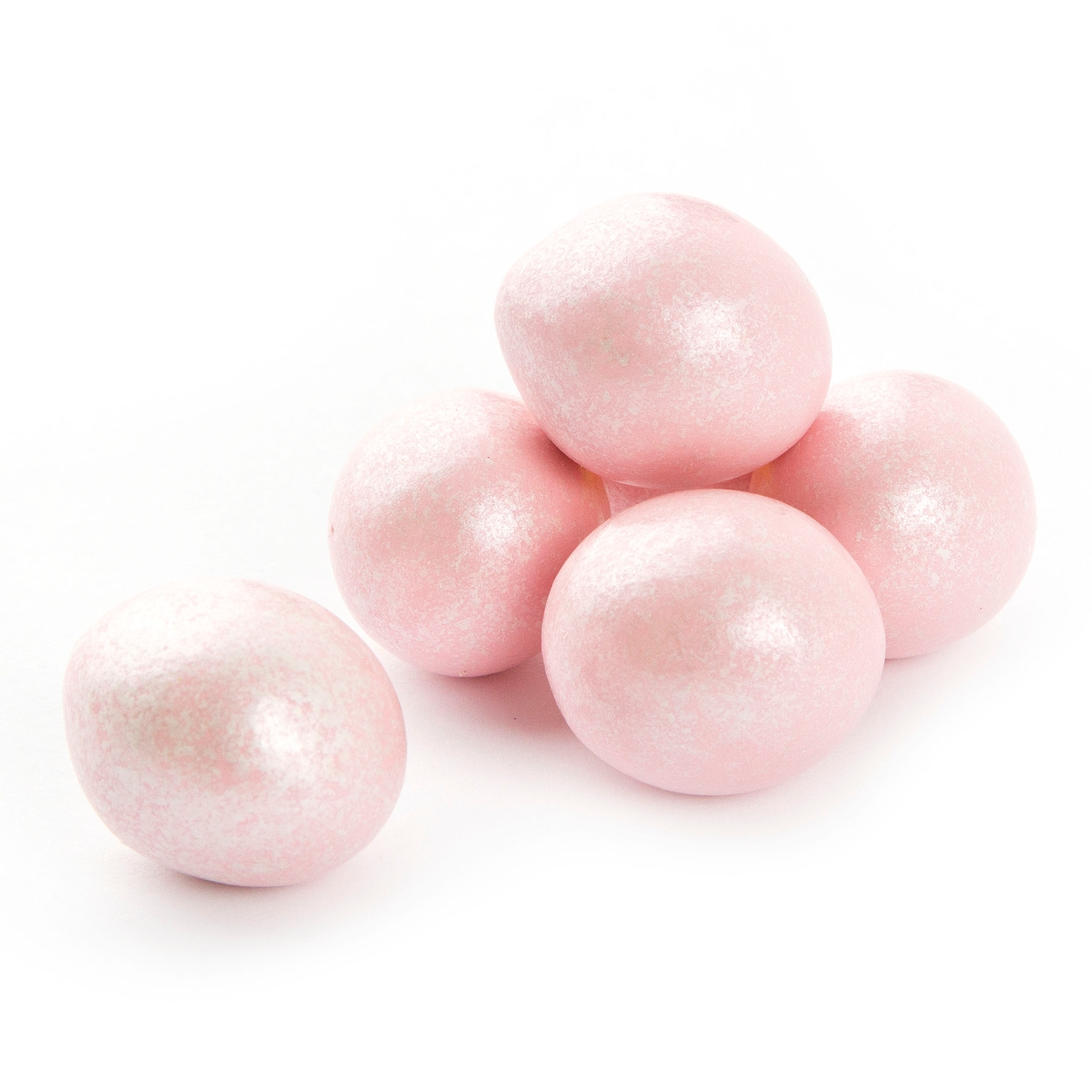 Pastel Pink Sparkle Chocolate Jordan Almonds • Chocolate Jordan ...