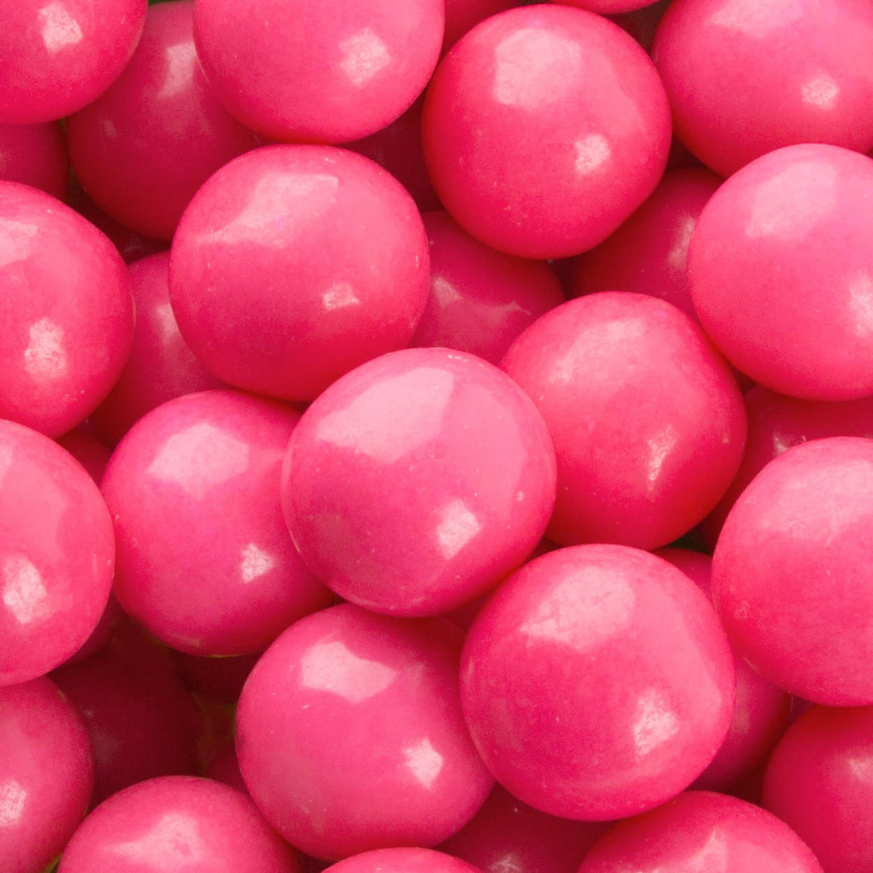 Bright and Bold Pink Gumballs • Oh! Nuts®