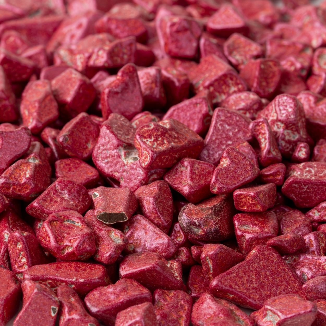 Red Ruby Chocolate Rocks Nuggets • Chocolate Candy Delights • Bulk ...