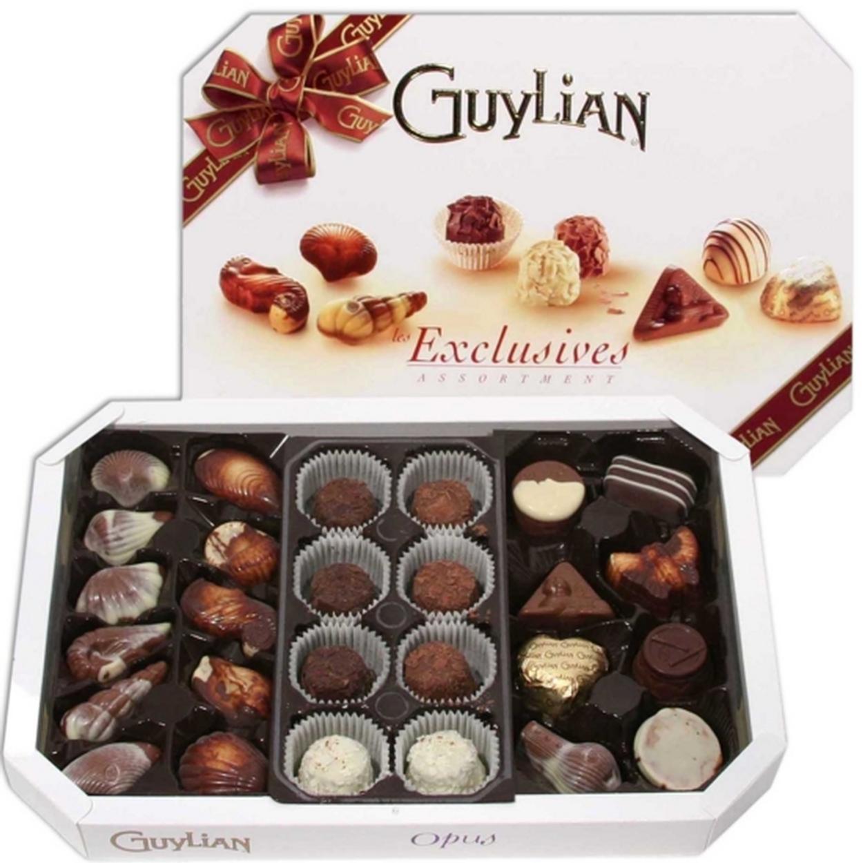 Les Exclusives Chocolate Gift Box • Guylian Belgian Chocolates ...