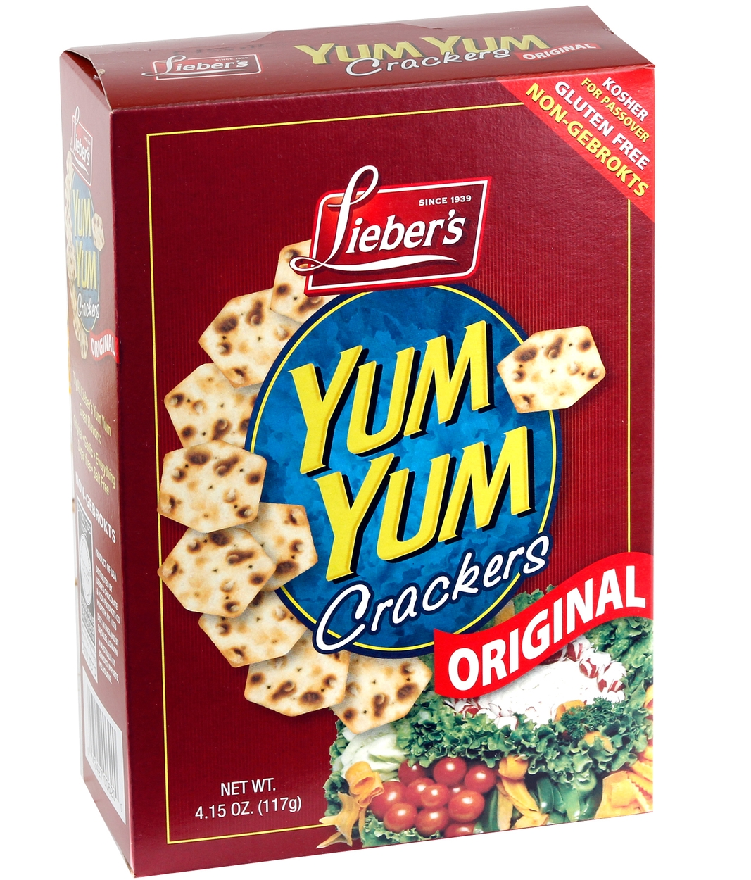 Passover yum yum gluten free crackers 41 oz box passover cereal passover yum yum gluten free crackers 41 oz box passover cereal snacks crackers passover gift baskets candy chocolate nuts oh nuts negle Choice Image
