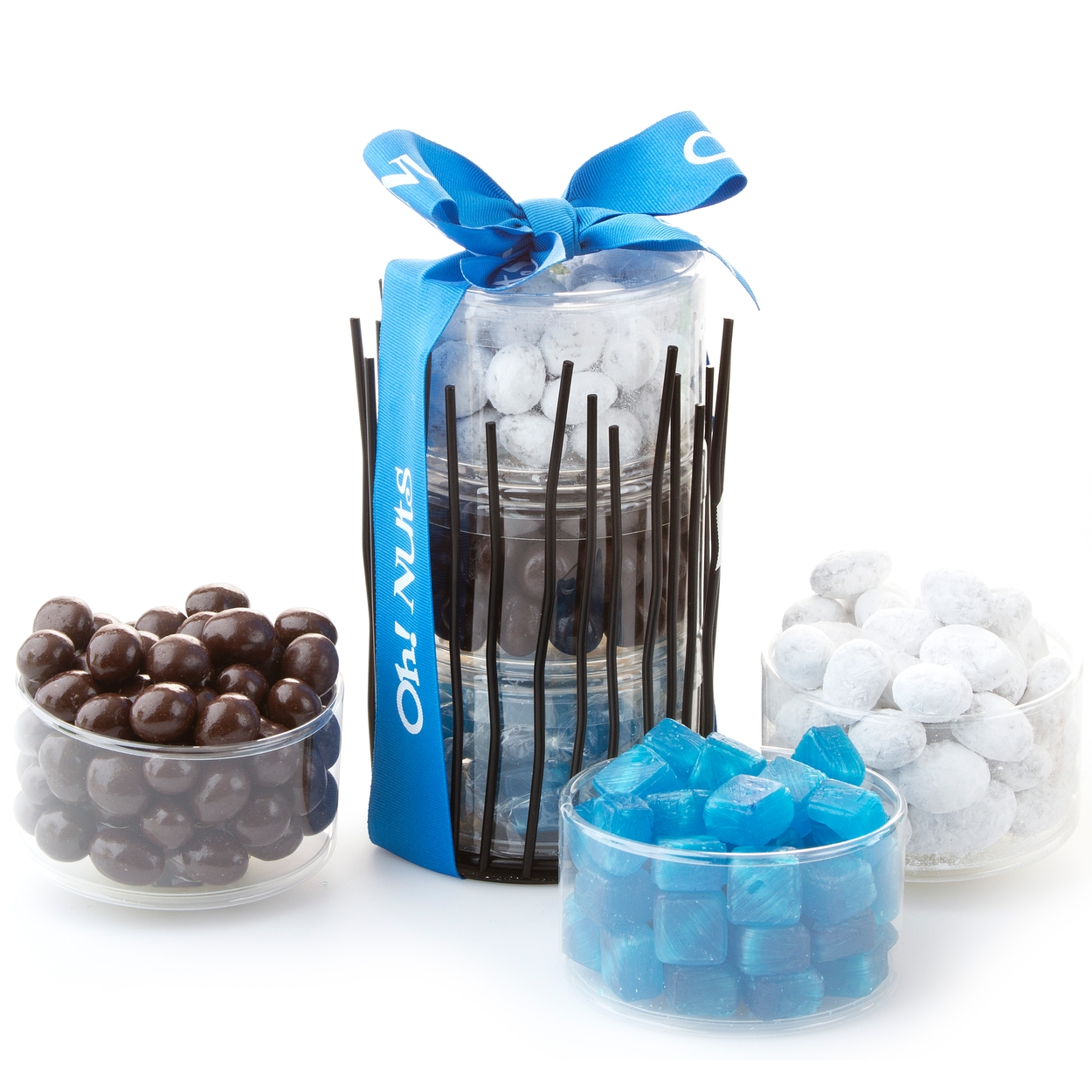 purim shalach manos sweet snack stand medium gift basket purim