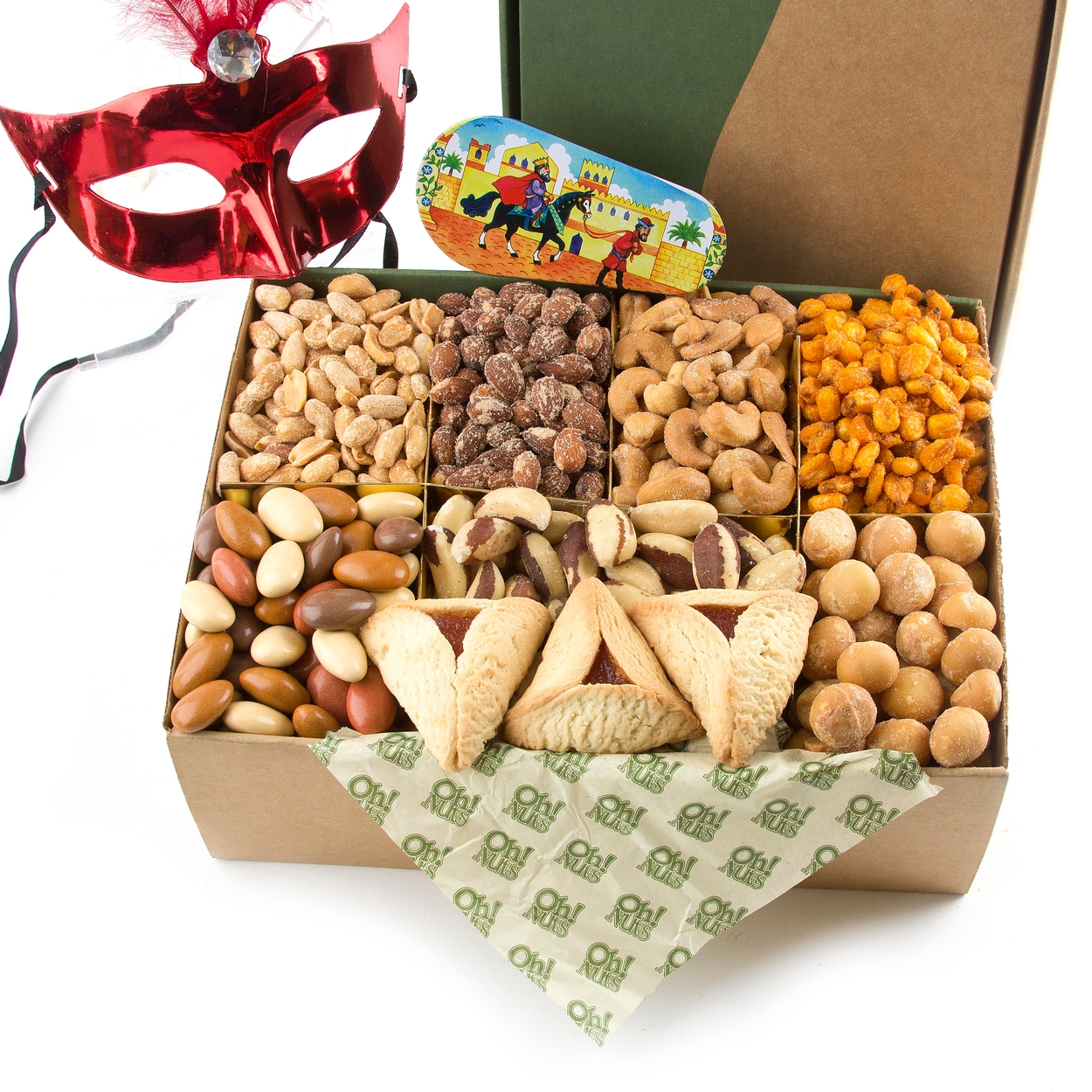 purim gourmet variety nut gift box the nut filled purim