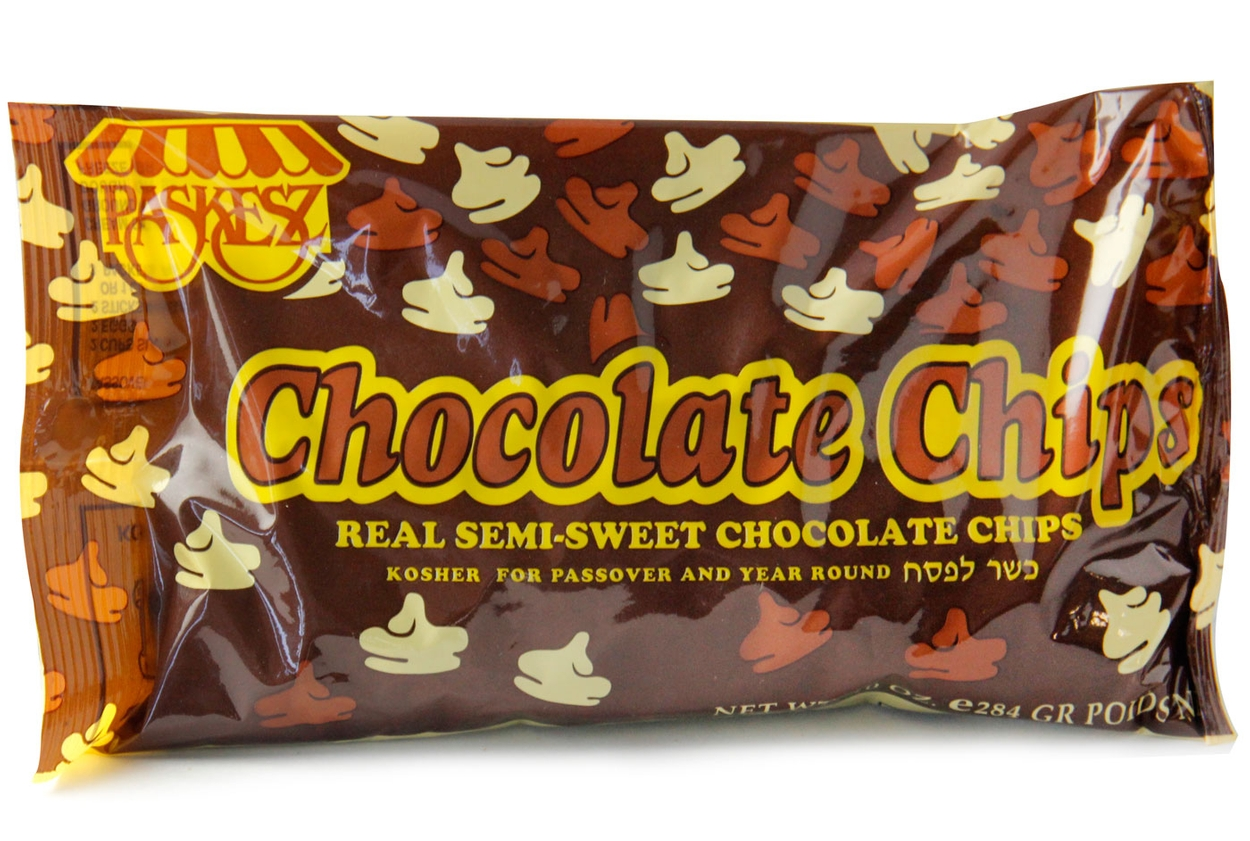 Semi-Sweet Real Chocolate Chips • Passover Food Specialties ...