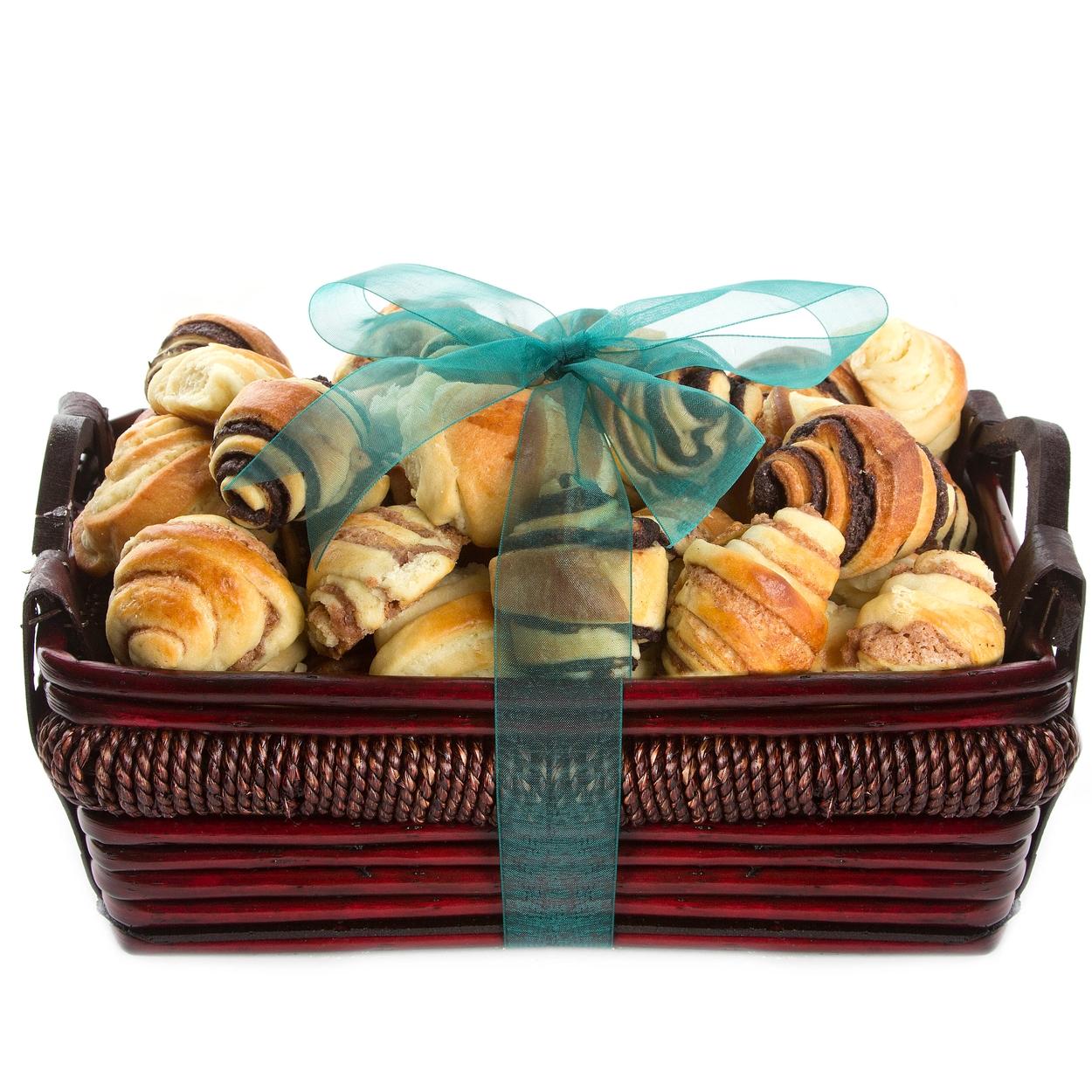 Medium Rugelach Gift Basket • Bakery Fresh Rugelach & Babka ...