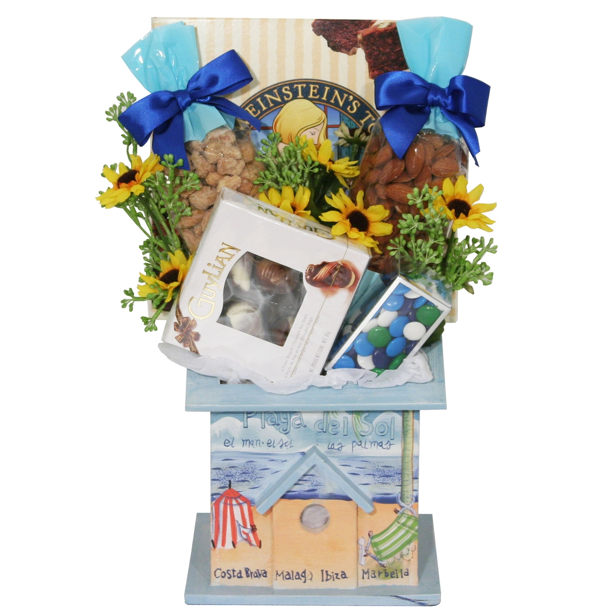 Beach home gift • house warming gifts • gift baskets by occasion • oh nuts