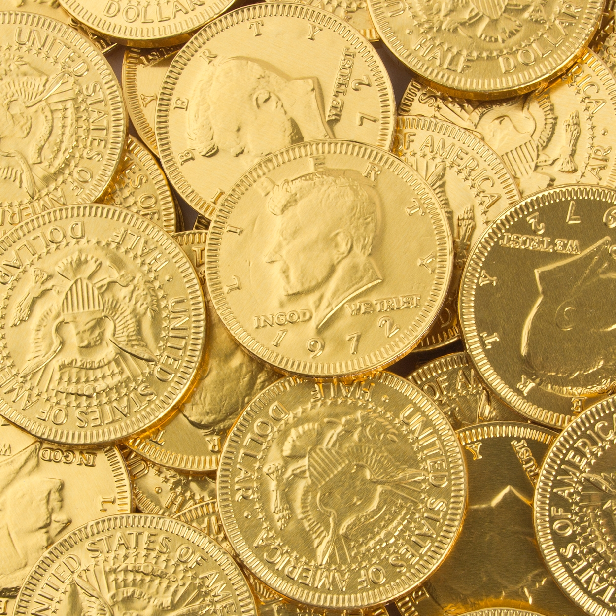 Bulk Chocolate Coins – Buy in Bulk By The Pound • Oh! Nuts®