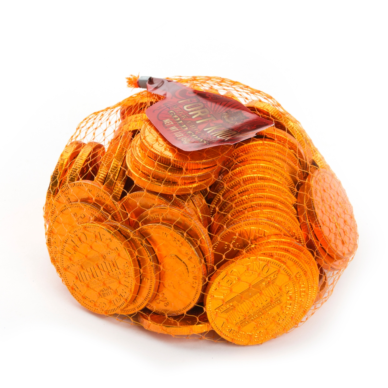 Chocolate Pennies Mesh Bag • Chocolate Coins • Bulk Chocolate • Oh ...