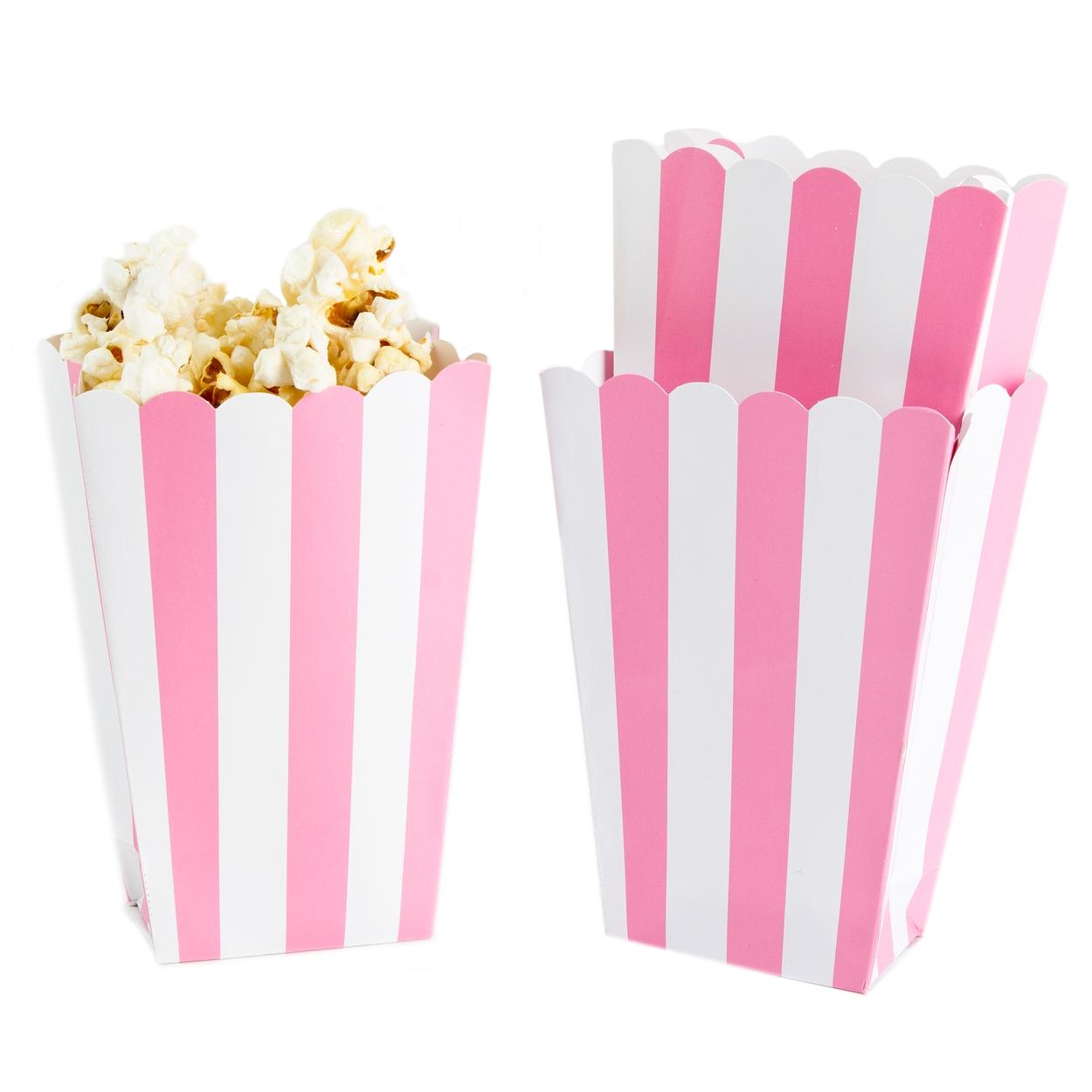 Light Pink Popcorn Box - 5CT • Candy Buffet Supplies • Bulk Candy ...