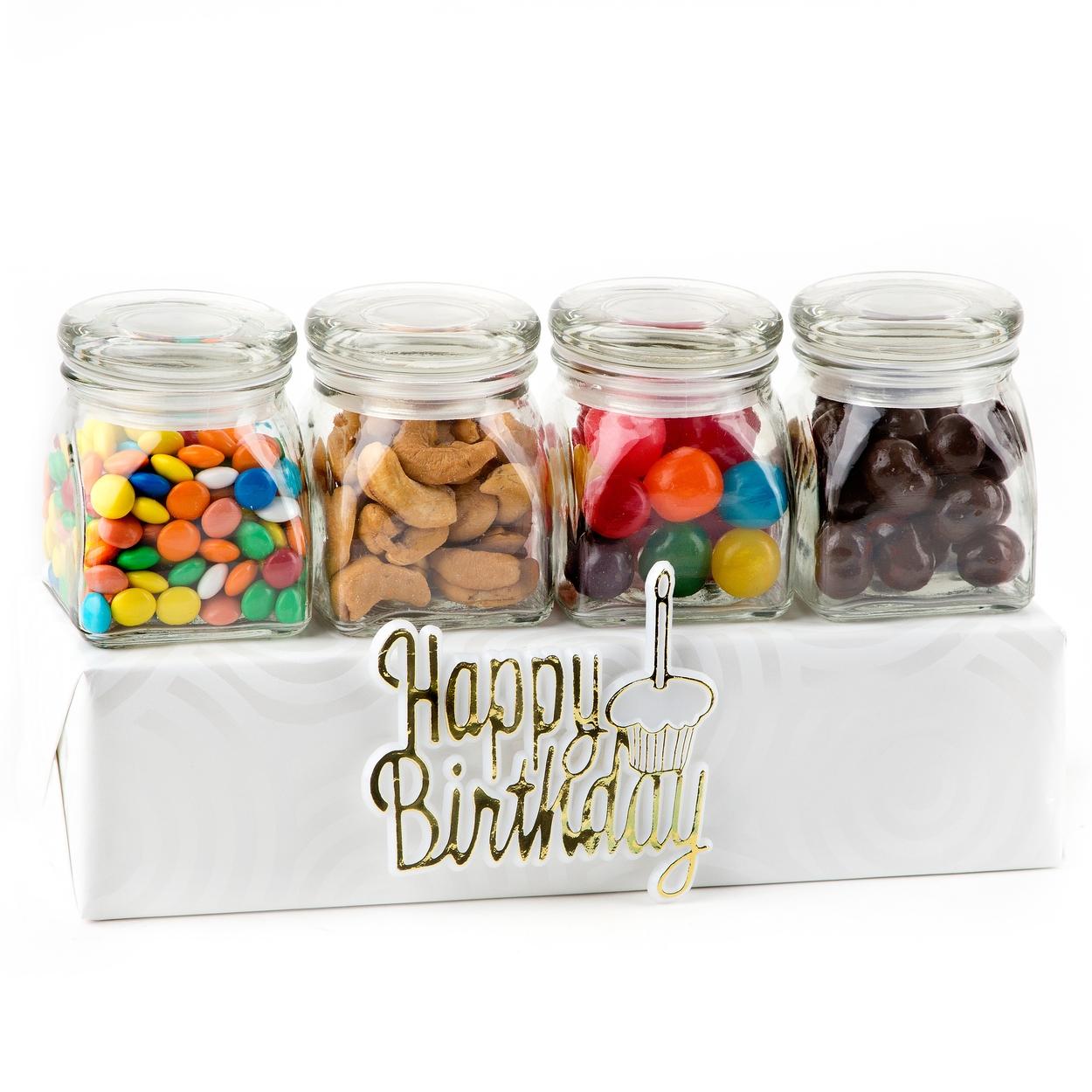 Happy Birthday Candy Jar Gift