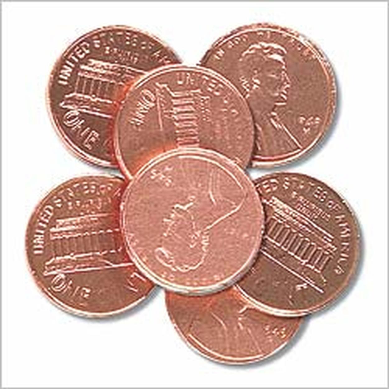 Milk Chocolate Copper Pennies • Chocolate Coins • Bulk Chocolate ...