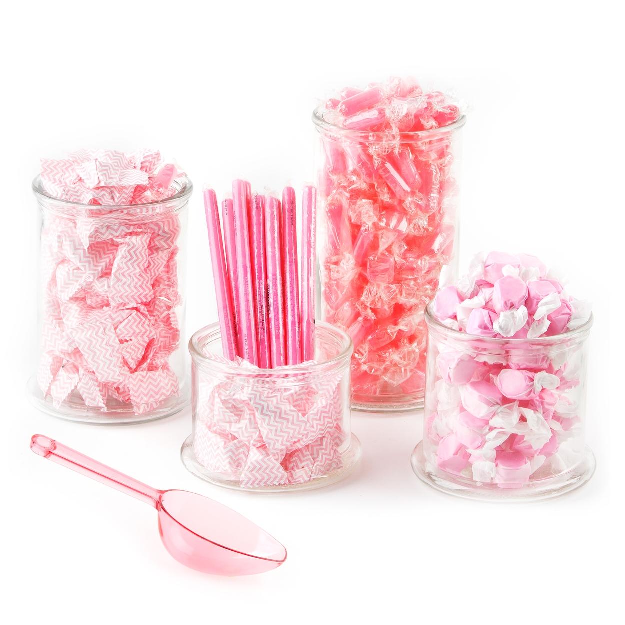 pink candy buffet kit u2022 candy buffet kits u2022 bulk candy u2022 oh nuts rh ohnuts com candy buffet kit 30 people candy buffet kit plastic
