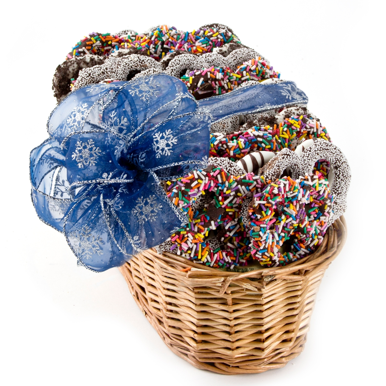 Hanukkah chocolate pretzel gift basket holiday nut gift baskets hanukkah chocolate pretzel gift basket holiday nut gift baskets holiday gifts christmas candy oh nuts negle Images