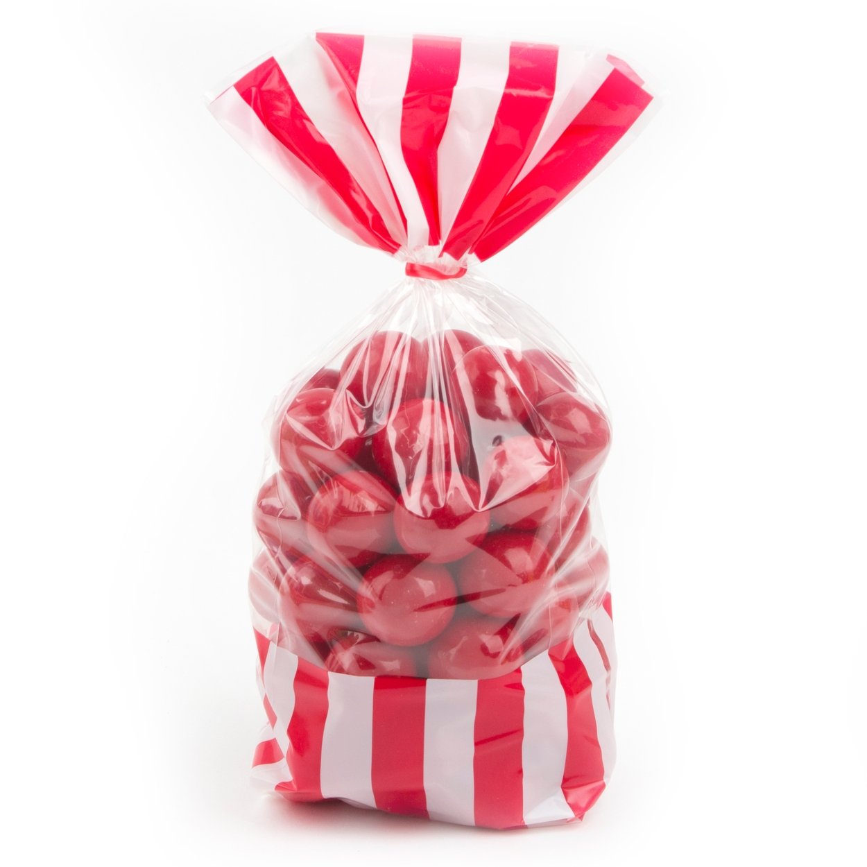 Red Striped Favor Bag - 10CT • Favor Bags • Candy Buffet Supplies ...