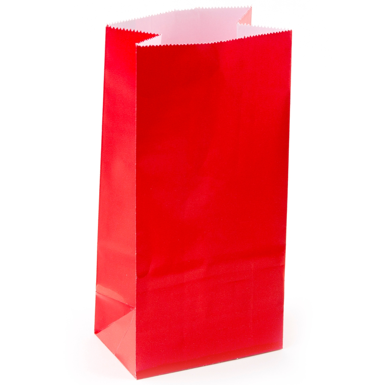 Red Paper Treat Bags 12ct
