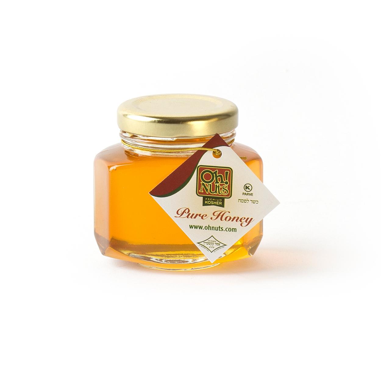 Rosh Hashanah Small Hexagon Honey Favor Bottle - 12CT (2.25oz ...