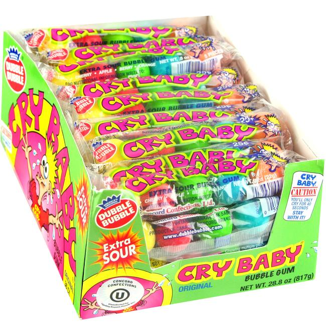 Blast Off! Extreme Sour Bubble Gum Rope - Green Apple - 48CT Box ...
