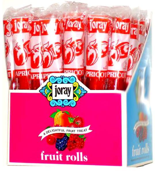 Apricot Fruit Leather Rolls • Joray Fruit Rolls • Fruit Leather ...