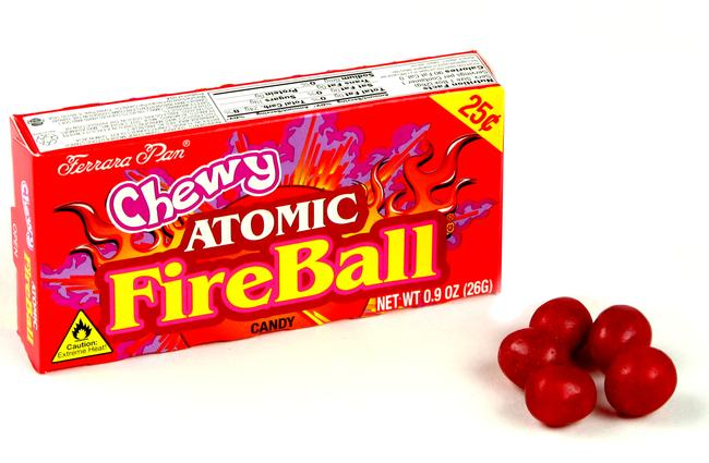Fun Old Time Candy Products - Atomic Fireballs | Homemade Recipes http://homemaderecipes.com/course/appetizers-snacks/old-time-candy
