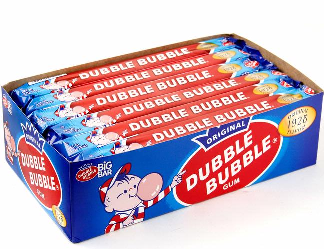 Fun Old Time Candy Products - Dubble Bubble | Homemade Recipes http://homemaderecipes.com/course/appetizers-snacks/old-time-candy