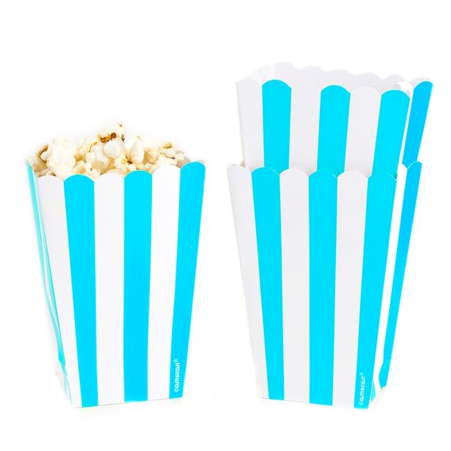 Caribbean Blue Popcorn Box - 5CT